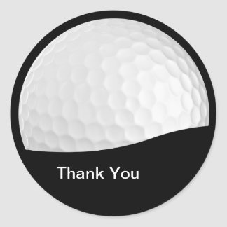 Golf Thank You Stickers
