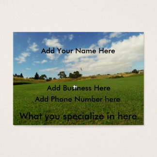Golf,_The_Game,_Chubby_Business_Cards,_(100),_Pack Business Card