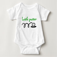 Golf theme baby outfit   Customizable design Baby Bodysuit