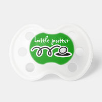 Golf theme baby pacifier / soother / dummy binkie