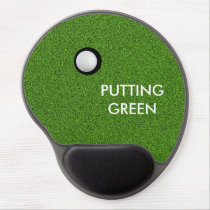 Golf Theme Gel Mousepads