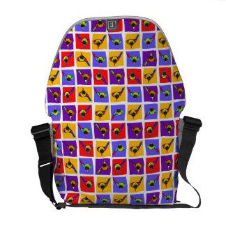 Golf Themed Messenger Bag