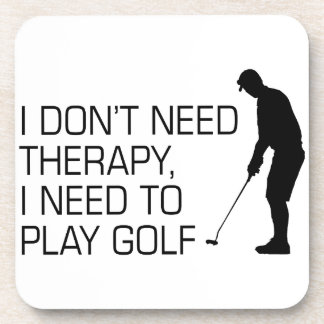 Golf Therapy Beverage Coaster