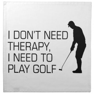 Golf Therapy Cloth Napkin