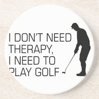 Golf Therapy Coaster