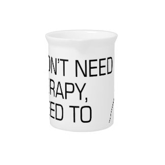 Golf Therapy Drink Pitcher