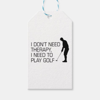 Golf Therapy Gift Tags