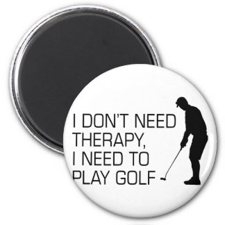Golf Therapy Magnet