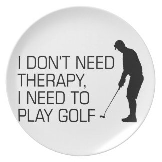 Golf Therapy Plate