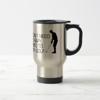 Golf Therapy Travel Mug