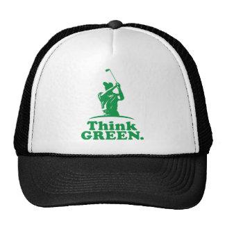 Golf - Think Green Trucker Hat