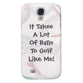 Golf toma el caso del iPhone 3G/3GS de las bolas