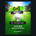 """Golf Tournament Charity Flyer Poster<br><div class=""""desc"""">Golf Tournament Charity Flyer Poster</div>"""