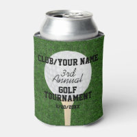 Golf Tournament | Golf Outing | Golf Ball & Tee Can Cooler