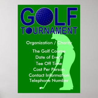 Golf Tournament Poster