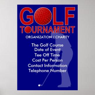 Golf Tournament  Poster 2