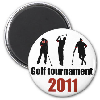 Golf tournament - RED Magnets