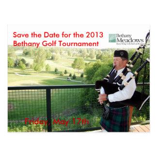 Golf Tournament Save the Date Postcard