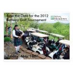 Golf Tourney Save the Date Postcard