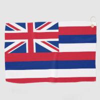 Golf Towel with flag of Hawaii, USA