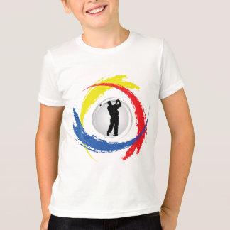 Golf Tricolor Emblem T-Shirt