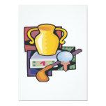 Golf Trophy 5x7 Paper Invitation Card