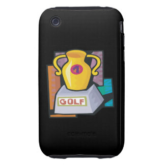 Golf Trophy Tough iPhone 3 Cover