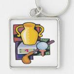 Golf Trophy Key Chain