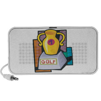 Golf Trophy Mini Speakers