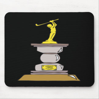 Golf Trophy Mouse Pad