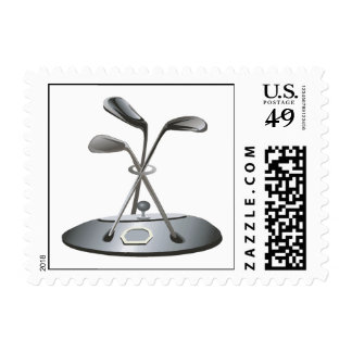 Golf Trophy Postage