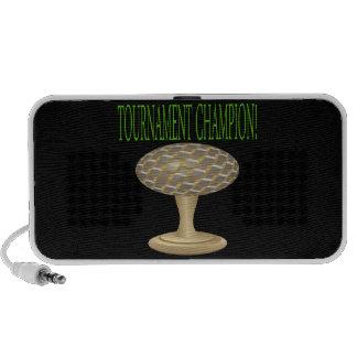 Golf Trophy Speaker System