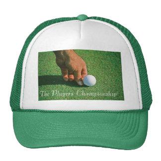 Golf truckers hat
