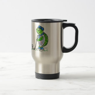 Golf Turtle Travel Mug