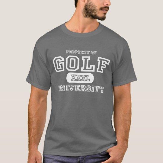 Golf University Dark T-Shirt
