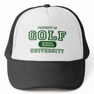 Golf University hat