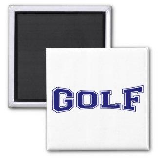 Golf University Style Fridge Magnets