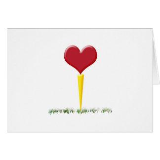 Golf Valentine Card