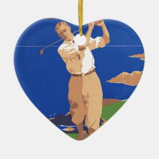 Golf Vancouver Island Canada Ornament