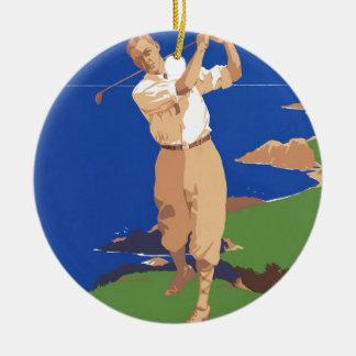 Golf Vancouver Island Canada Christmas Ornament