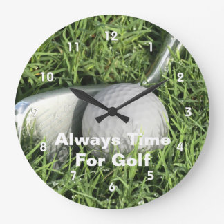 Golf Wall Clocks