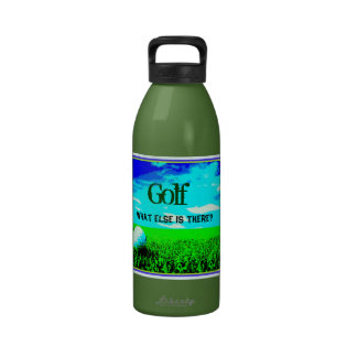 Golf What Else Is There Design Water Bottles