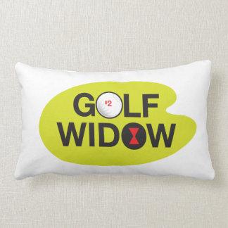 Golf Widow Badge of Honor Lumbar Pillow
