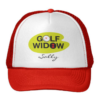 Golf Widow_Badge of Honor_on the green_template Trucker Hat