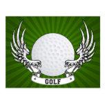 Golf Wings Postcard