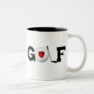 Golf with Golf Ball Coffee Mug