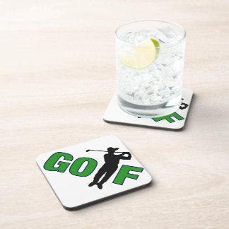 Golf with Golfer Coasters