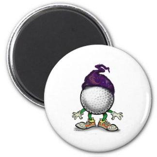 Golf Wizard 2 Inch Round Magnet