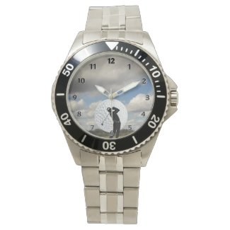 Golf World Golfers Watches Personalized