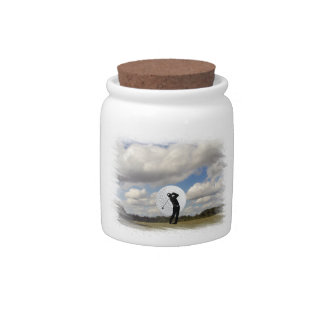 Golf World Candy Jar